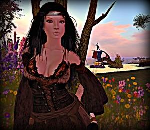 Me in my medieval garb