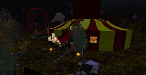 The Big Tent --- this freak show tent holds some of the most beautiful and talented dancers in InWorldz