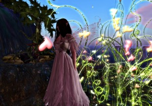 Dreams is really a lovely region to visit - wearing Fairy Nim in white... take a look. it's lovely