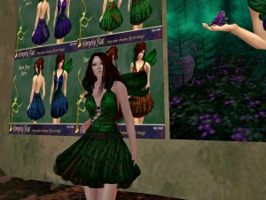 Dartfrog Fae outfit from Simply Fae @BigEasy in InWorldz