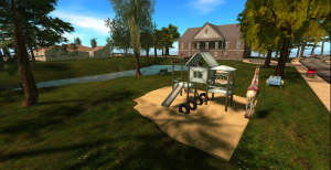 A lovely place to relax with your virtual family