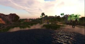View of Amelia Bay