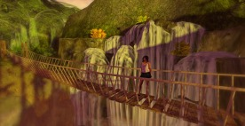 InWorldz Blog June Brewster Park Waterfalls